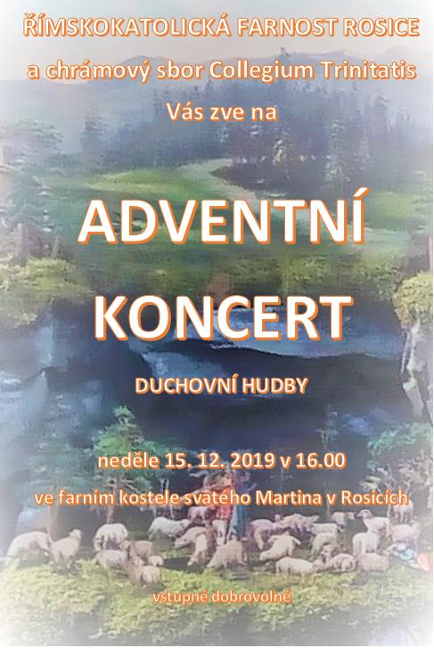 Adventní koncert - chrámový sbor Collegium Trinitatis